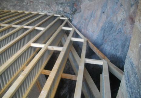 5. Solives Nailweb en appui sur des poutres porteuses Nailweb