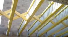 Plancher et plafond nailweb - Realisation plancher bois etage ...