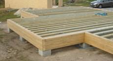 Plancher et plafond nailweb - Plancher sur vide sanitaire ...