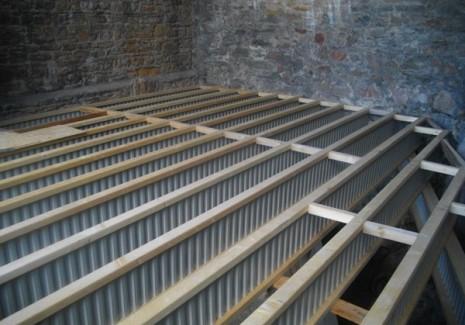 5. Solives Nailweb en appui sur des poutres porteuses Nailweb (2)