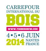 Logo Carrefour du Bois avec dates petit